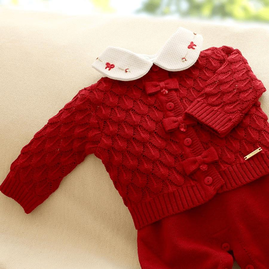 Saídas de Maternidade vermelha