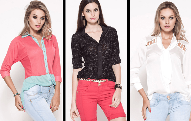 modelos de camisas de inverno femininas
