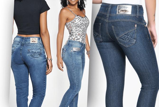 Calças Jeans Biotipo Feminina