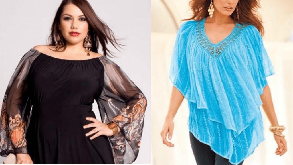 Modelos de Blusas para Gordinhas 2017