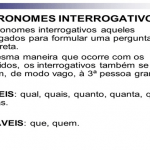 Lista de Pronomes Interrogativos
