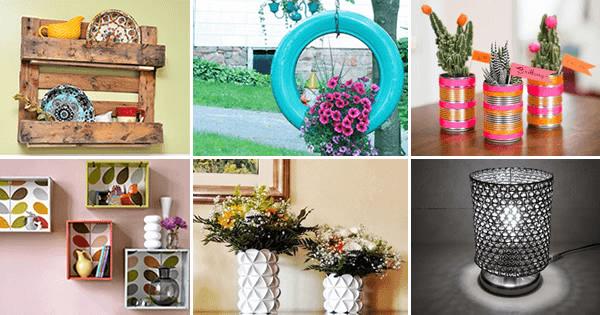 ideias para decoração de artesanato
