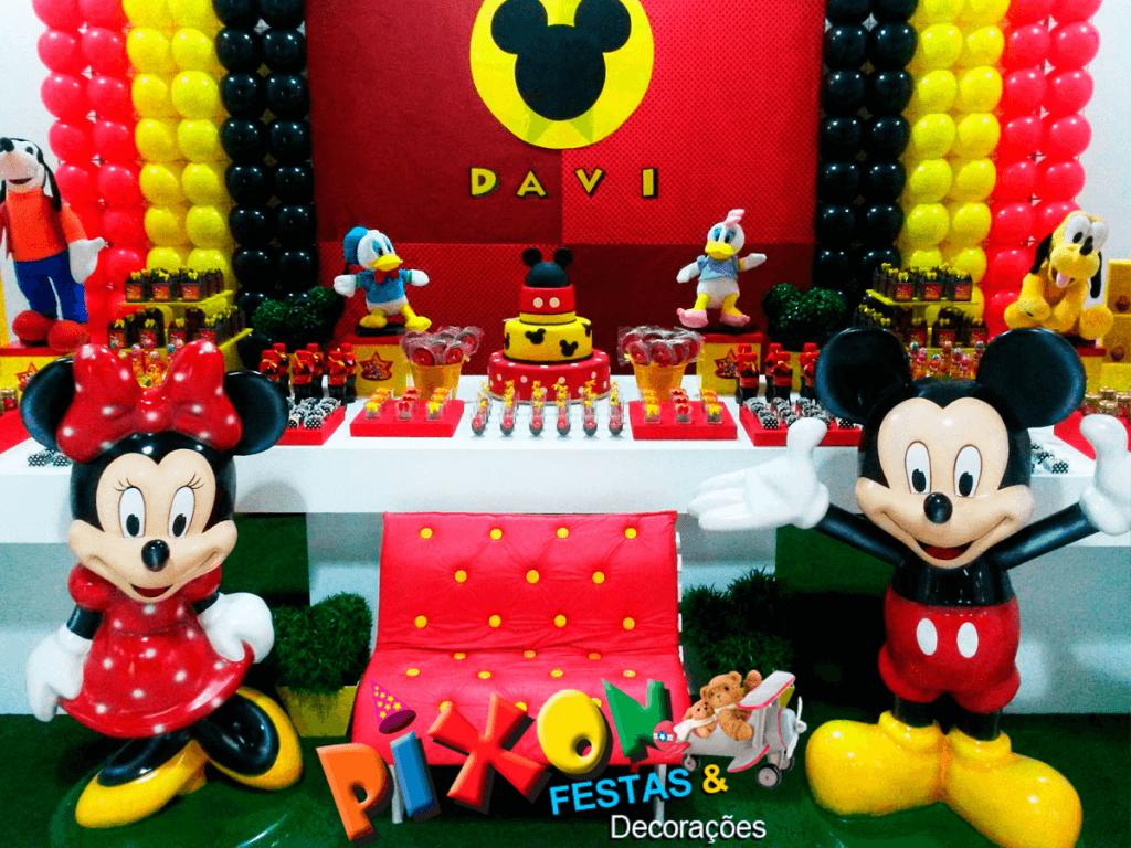 Festa Infantil Decoração mickey