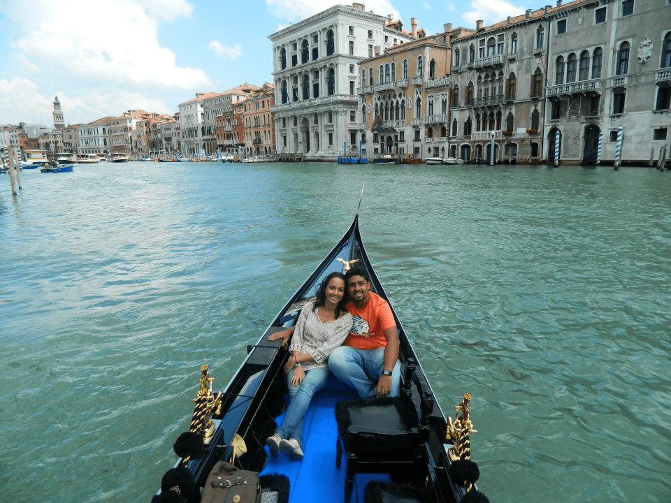 fotos de namorados em veneza