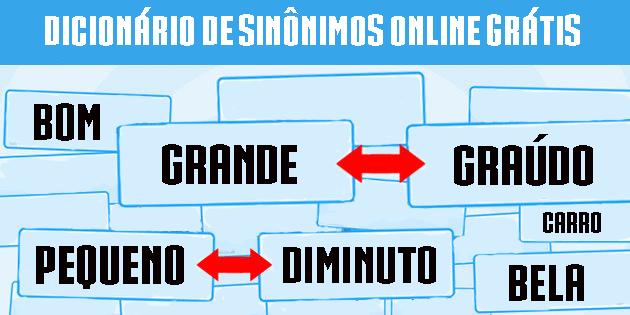 Dicionário de Sinônimos na Internet