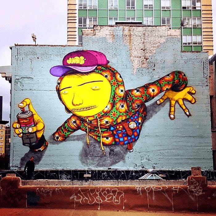 os irmãos grafiteiros