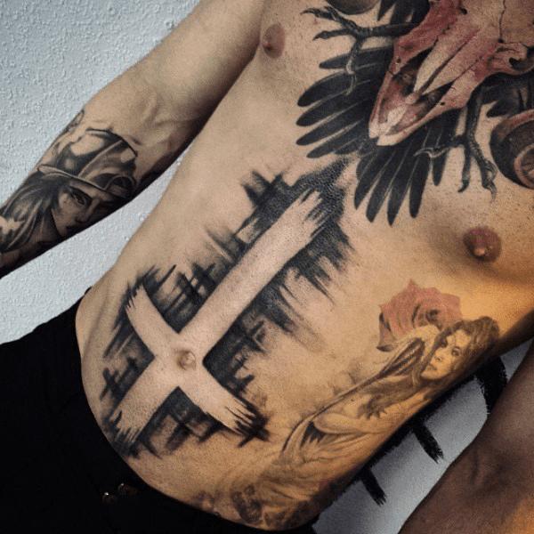 Tattoos na Barriga