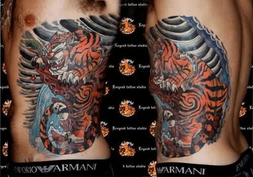 tattoo na barriga