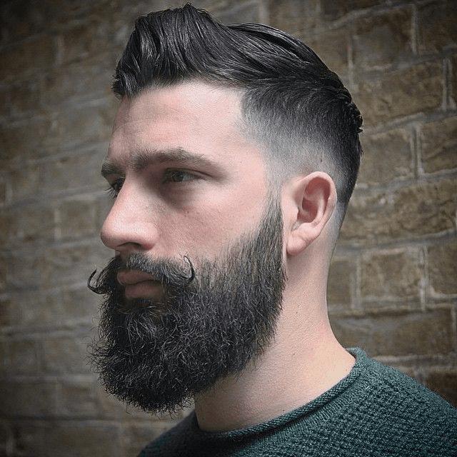homens de barba