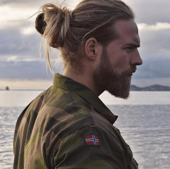 barba de homens