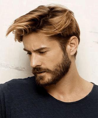 barbas de homens