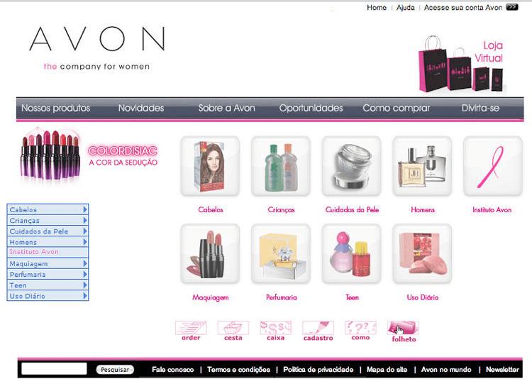 Avon Loja Virtual - Preços e Produtos
