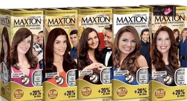tintas de cabelos maxton