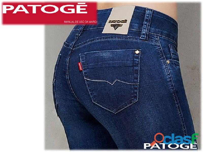 Vestido longo jeans patoge