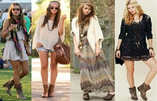 Moda Anos 70 Feminina Moda Hippie Anos 70