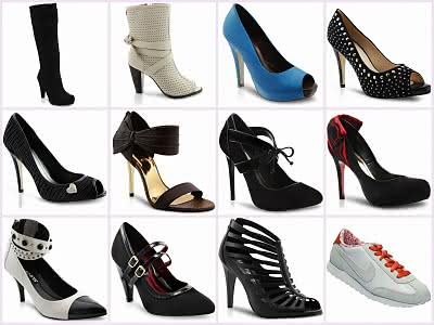 a341dff17 Fotos   Modelos. Sapatos Femininos em Promoção