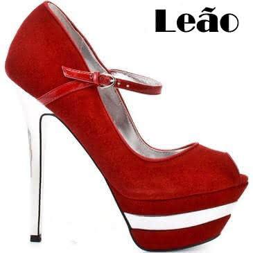 Sapatos para cada Signo Leão