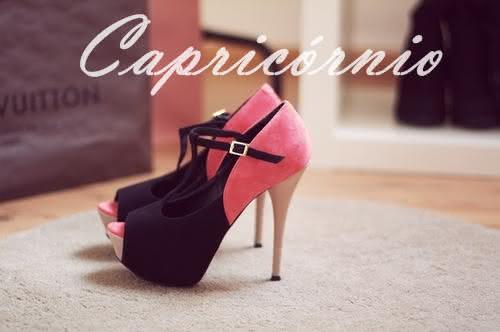 Sapatos para cada Signo Capricornio
