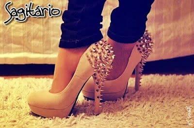 Sapatos para cada Signo Sagitário