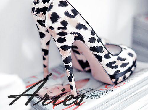 Sapatos para cada Signo Aries