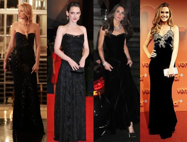 Vestido preto combina em casamento