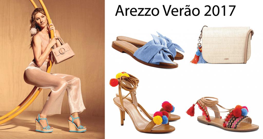 Site da Arezzo Loja Virtual