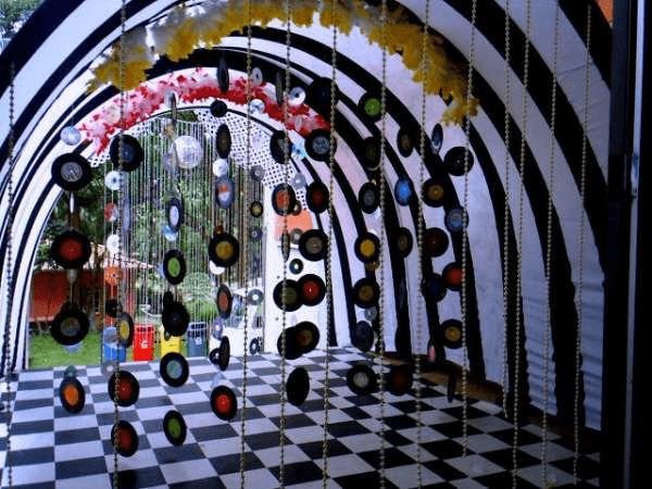 decoração anos 80