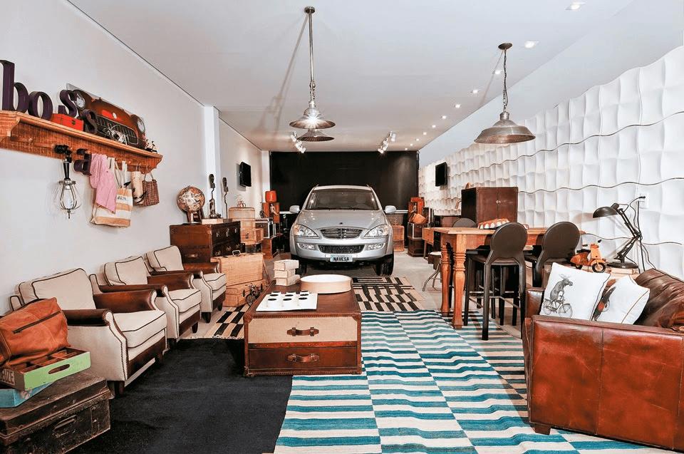 Decoração de Garagem