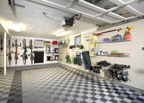 decoração garagem