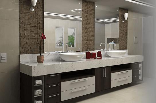 modelos de armários de banheiros