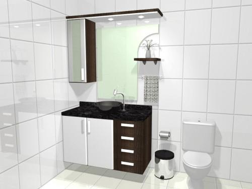 modelos e fotos de armários para banheiros