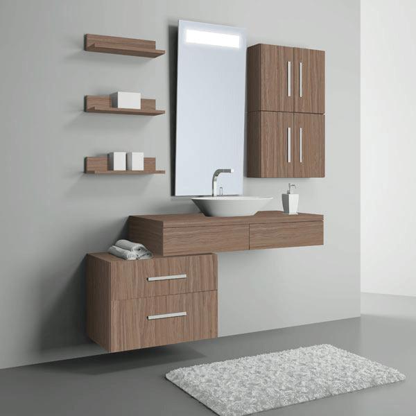 armários de banheiros
