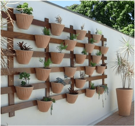 jardim vertical decoração
