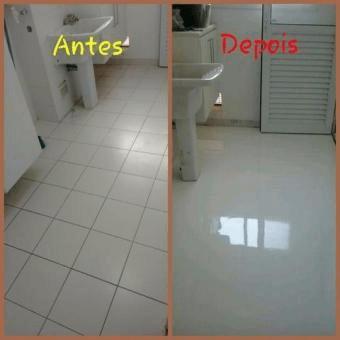 antes e depois tinta epoxi