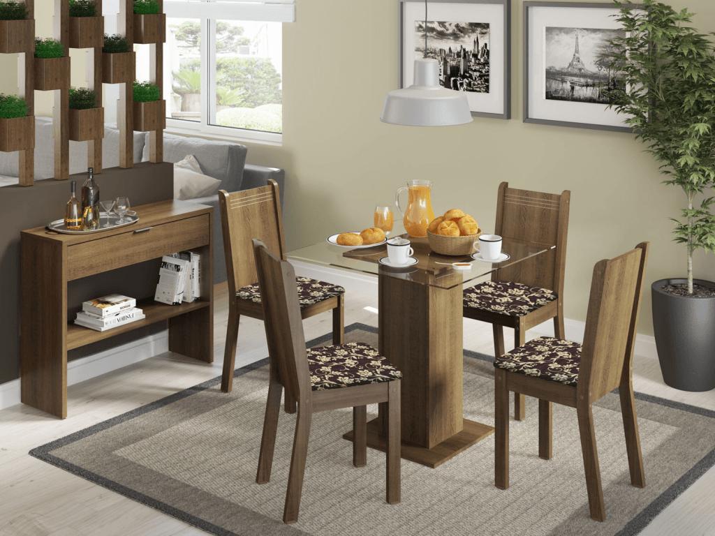 Mesas com 4 Cadeiras fotos
