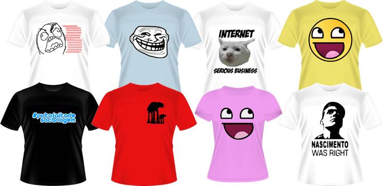 Camisetas Memes | Onde comprar