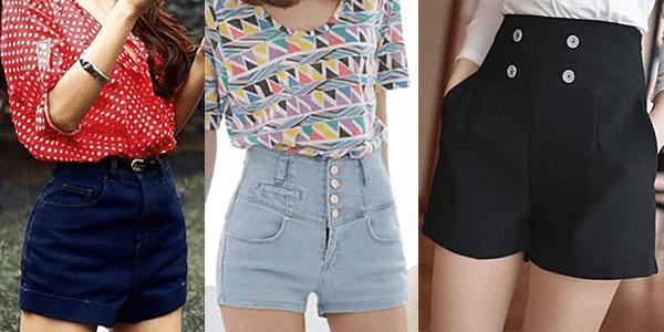 Como Usar Shorts Cintura Alta