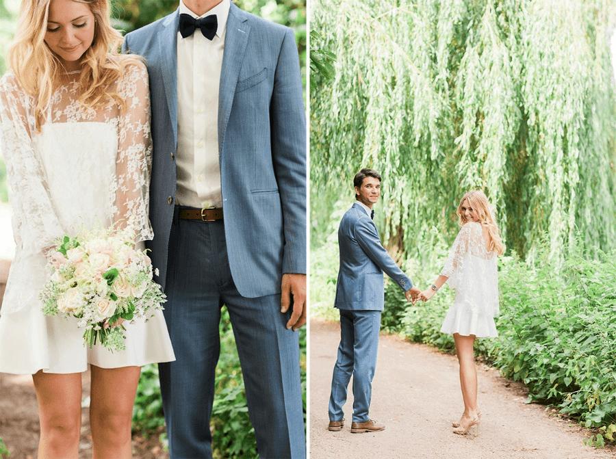 Vestido Noiva Renda Simples