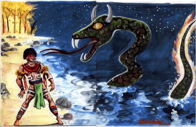 Personagens do Folclore boitatá