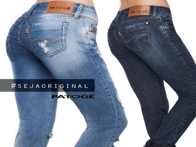 Calça Jeans Patogê Feminina