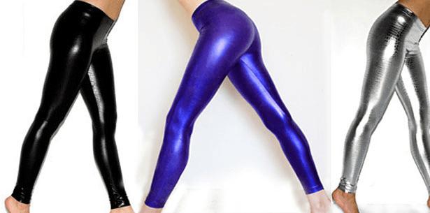 Calça Legging com Brilho como Usar