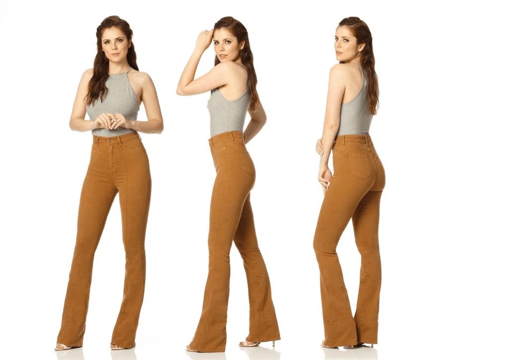 Hot Pants Calça Flare